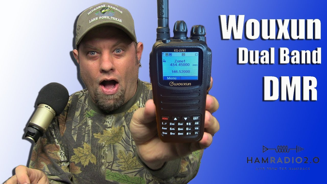 Ailuance HD1 Dual Band DMR HT Debut Video HAM Tecnologia