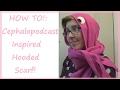 TUTORIAL! | Squid Hooded Scarf! | Sewing Nerd!