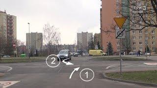Jedź bezpiecznie odc. 734 (Pierwszeństwo przy zawracaniu. Nowe znaki na ul. Wybickiego w Krakowie)