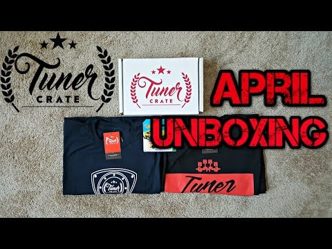 April Tuner Crate Unboxing: Standard JDM Box (SmurfinWRX) REVIEW