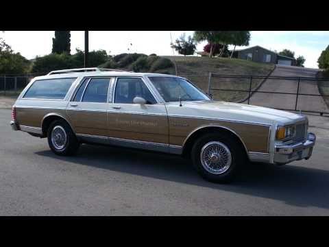 1984 Pontiac Parisienne Station Wagon Olds Oldsmobile Woodie Woody