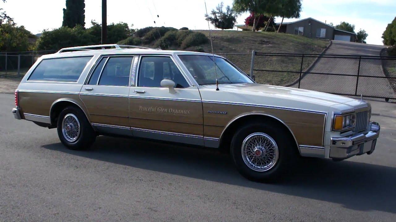 1984 Pontiac Parisienne Station Wagon Olds Oldsmobile Woodie Woody ...