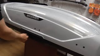 Скачать Серый перламутр бокс Broomer Venture L 430