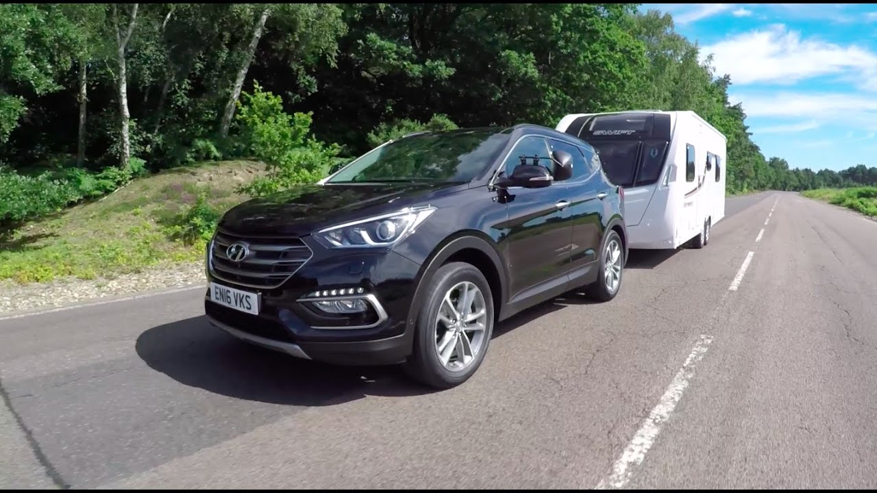 2017 Hyundai Santa Fe Towing Capacity >> The Practical Caravan Hyundai Santa Fe Review