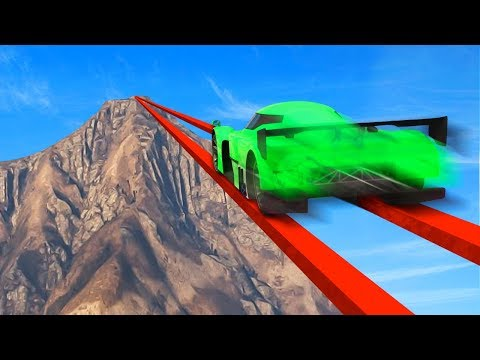 WORLDS MOST IMPOSSIBLE MILE HIGH TIGHTROPE! (GTA 5 Funny Moments)