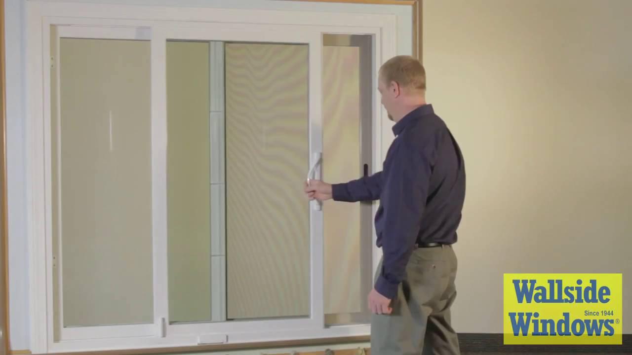 Wallside windows patio door wall operation youtube for Wallside windows