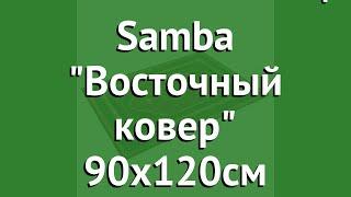 Коврик влаговпитывающ. Samba Восточный ковер 90х120см (Vortex) обзор 22418