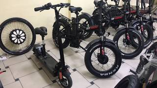 что выбрать: электро велосипед фэтбайк или электросамокат?! Плюсы и минусы электротранспорта