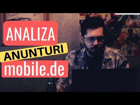 Analiză Anunţuri Mobile.de