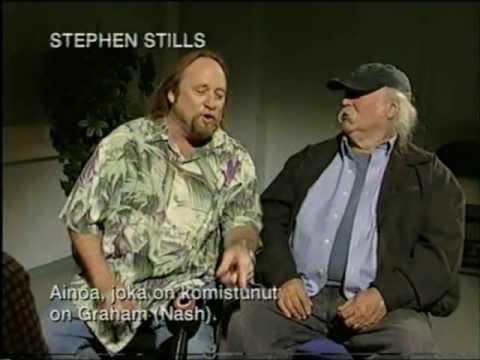 Crosby, Stills & Nash interview by Tomi Lindblom (2005) / Finland
