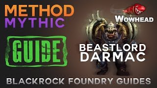 Beastlord Darmac Mythic Guide by Method
