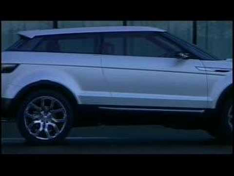 The Land Rover LRX concept unveiled