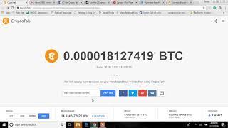 Get Crypto Tab Review - Google Chrome Plugin - Mine Bitcoin