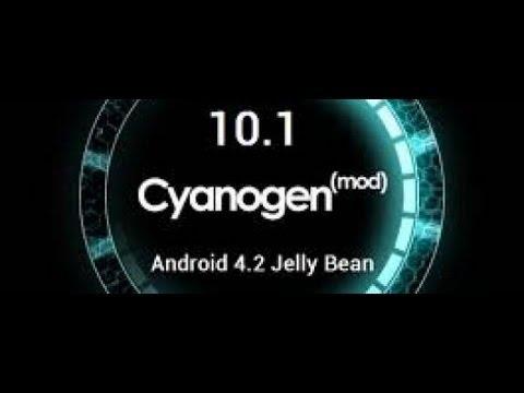 CyanogenMod 10.1 на Samsung Galaxy Gio