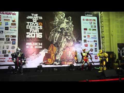 Bima X Cosplay Performance @ Jakarta Toys and Comics Fair 2016