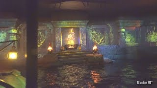 [4K] Tokyo Disneyland Jungle Cruise at Night with Projection Mapping