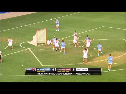 North Carolina Vs Maryland | 2015 NCAA Women's Lacrosse Campionship Highlights