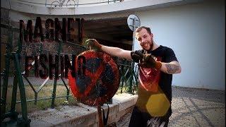 Magnet fishing - výlov kovových pokladů w/ brácha Patrik