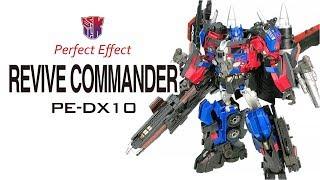 KL變形金剛玩具分享464 PerfectEffect PE-DX10 JETFORCE REVIVE COMMANDER 天火柯博文