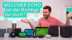 Welcher Amazon Echo ist der richtige?  Alle Lautsprecher im Vergleich & Test!
