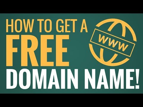 How To Get a FREE Domain Name