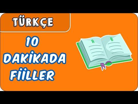 10dk da FİİLLER