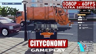 CITYCONOMY: Service for your City gameplay PC HD [1080p/60fps]