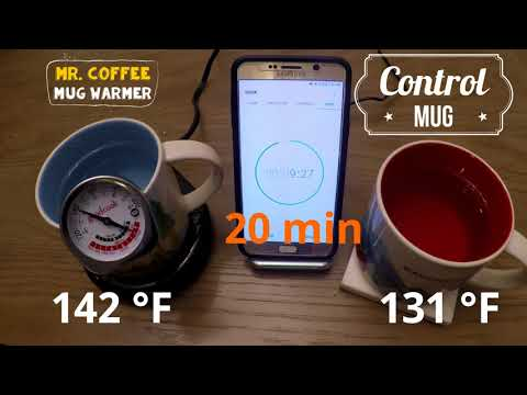 Mr. Coffee Mug Warmer Unboxing and Scientific Review (20 days of Unboxing)