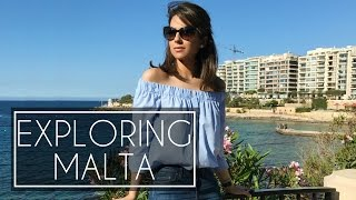 WHAT I DID IN MALTA   Travel Vlog