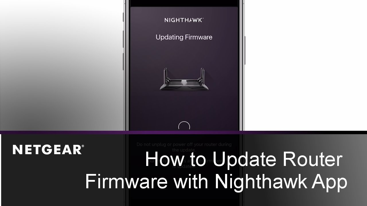 How to Update Router Firmware with the Nighthawk App | NETGEAR