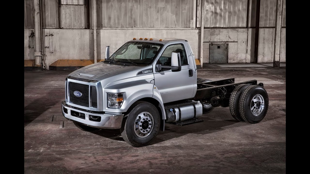 new 2015 ford f650 f750 trucks [ 1280 x 720 Pixel ]