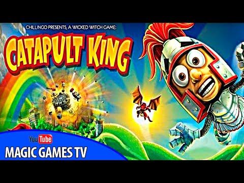 Катапульт Кинг игра для детей | Catapult King (iPad Gameplay Video)