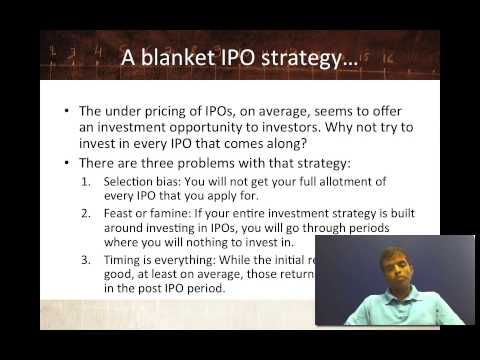 Session 18: Get in on the ground floor - The IPO story