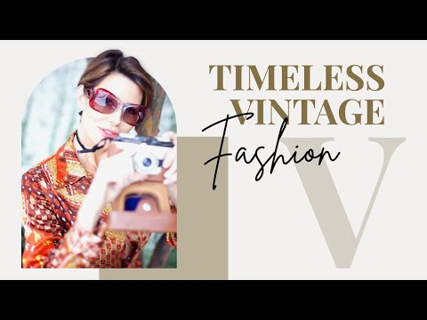 How To Wear Vintage Fashion   60's 70's 80's   Dominique Sachse