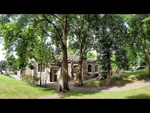 London. The Ancient Church Or St Dunstan And All Saints, Stepney. Limehouse