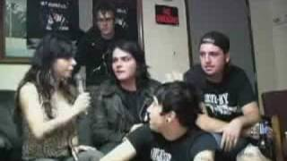 Download Video My Chemical Romance Interview on Burning Angel DVD MP3 3GP MP4