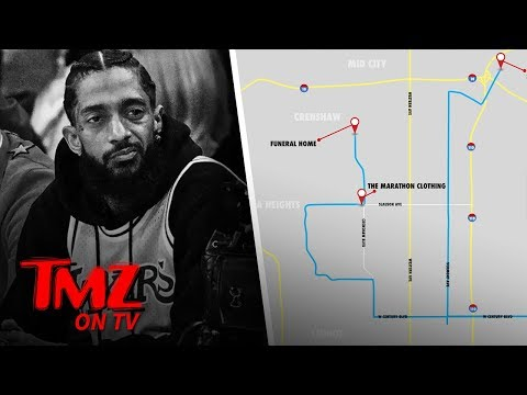 Nipsey Hussle's Funeral Procession Will Pass By His Shooting Location | TMZ TV