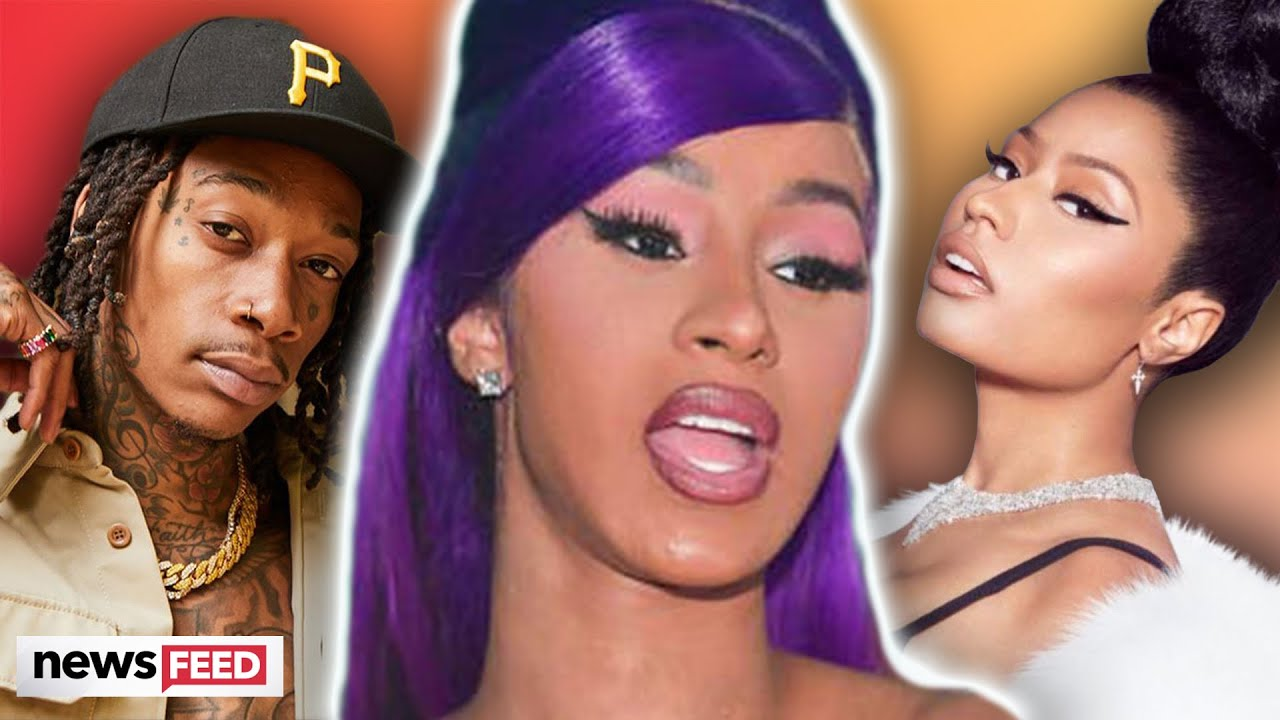 Cardi B CALLS OUT Wiz Khalifa For Pitting Her Against Nicki Minaj!