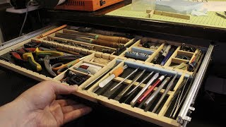 Under Desk Tool Drawer Modeller's Delight