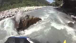 Rafting op de Ubaye