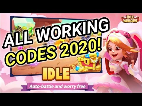 All Working Redeem Codes In Idle Heroes September 2020 I ...