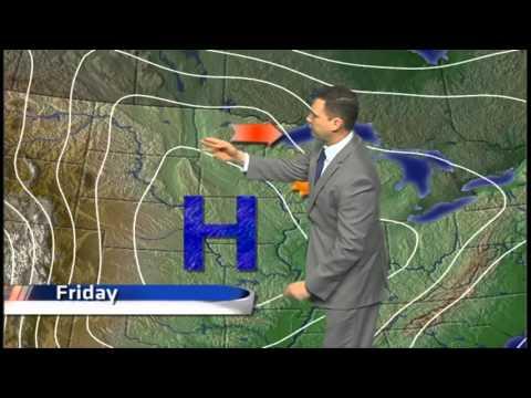Arctic high pressure brings, calm, cold forecast