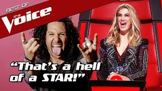 HARD ROCK LEGEND shocks The Voice Coaches with an UNEXPECTED...