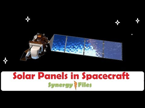 Type of Solar Panels used in spacecraft