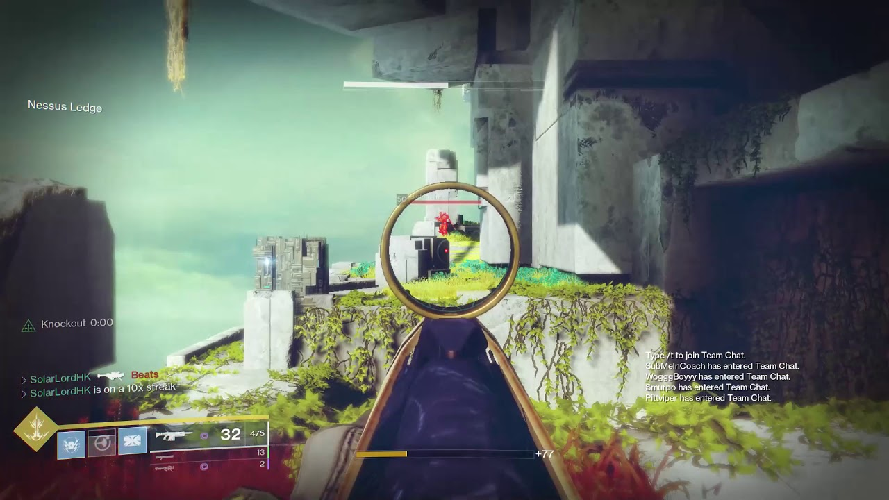 All bots rumble match in Destiny 2 - YouTube