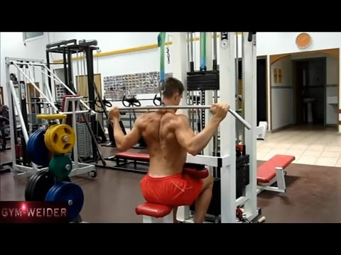 9 killer Back Exercises must do for Mass Cable Machine part 3