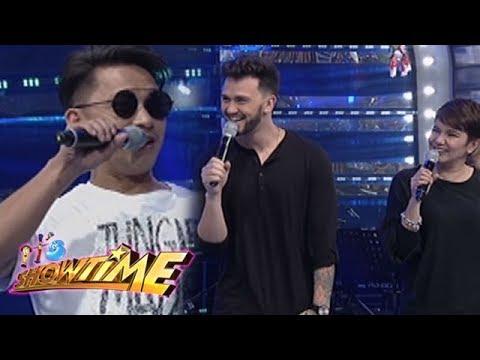 It's Showtime: Jhong shows his 'unique' magic trick