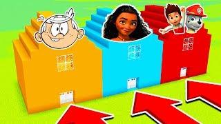 DO NOT CHOOSE THE WRONG HOUSE (LOUD HOUSE,MOANA, PAW PATROL)(Ps3/Xbox360/PS4/XboxOne/PE/MCPE)