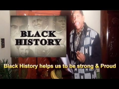 """Black History Helps us to be strong & Proud """"Quick Lesson"""""""