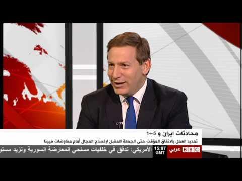 Interview with Edwin Samuel on BBC Arabic